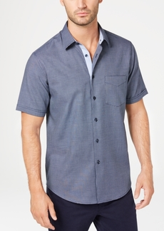 Tasso Elba Men's Regular-Fit Box Dobby Shirt, Created for Macy's