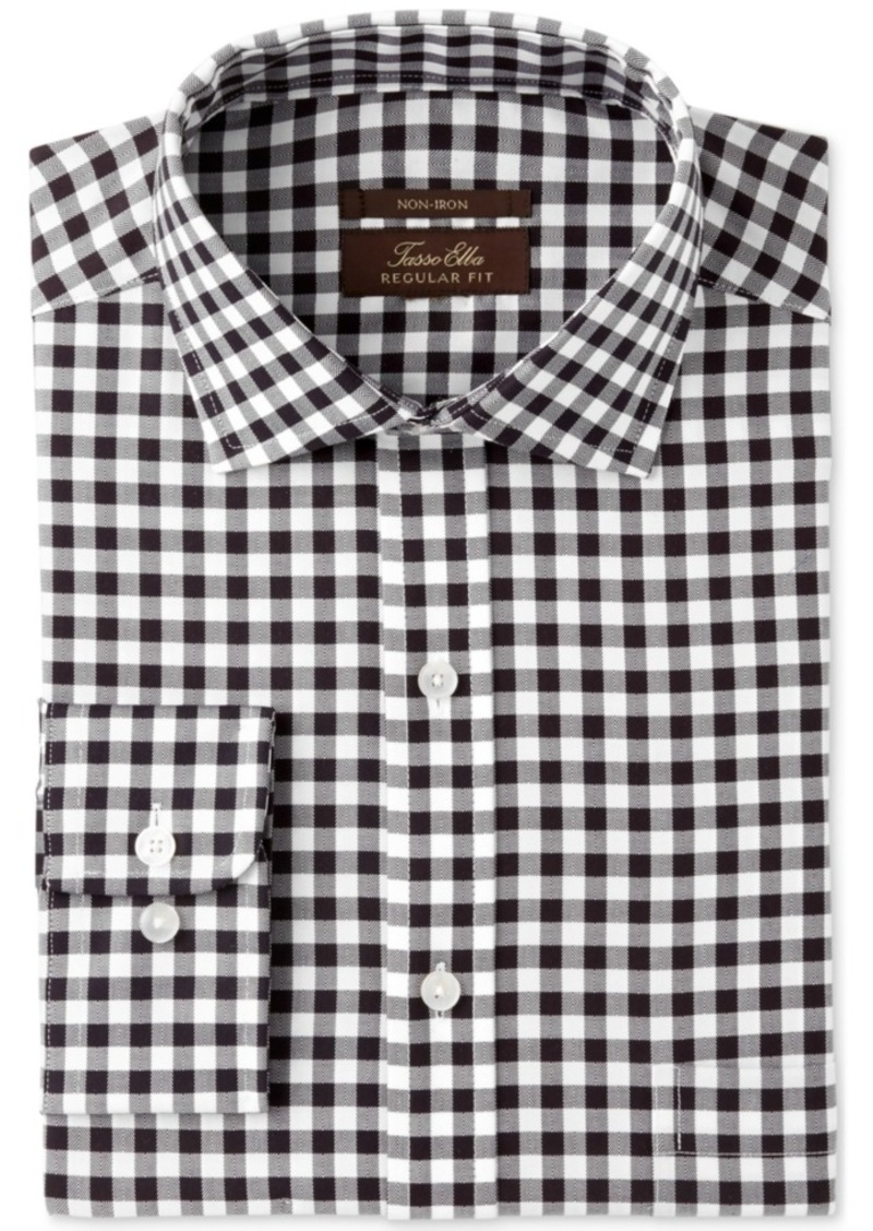 6635b6781762 Mens Black And White Gingham Dress Shirt « Alzheimer's Network of Oregon