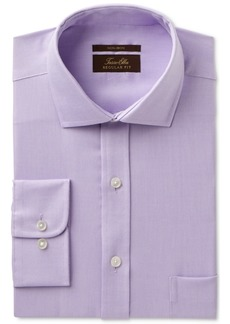 Tasso Elba Men's Regular Fit Non-Iron Stripe French Cuff Dress Shirt, Created for Macy's
