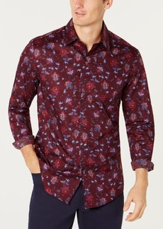 Tasso Elba Men's Roman Floral Shirt, Created for Macy's