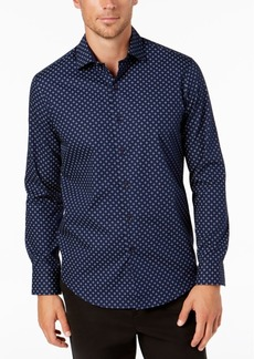 Tasso Elba Men's Sena Medallion Printed Shirt, Created for Macy's