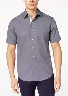 Tasso Elba Men's Short-Sleeve Printed Shirt, Created for Macy's
