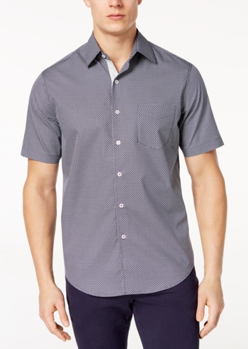 Tasso Elba Men's Short-Sleeve Printed Shirt, Created for Macy's