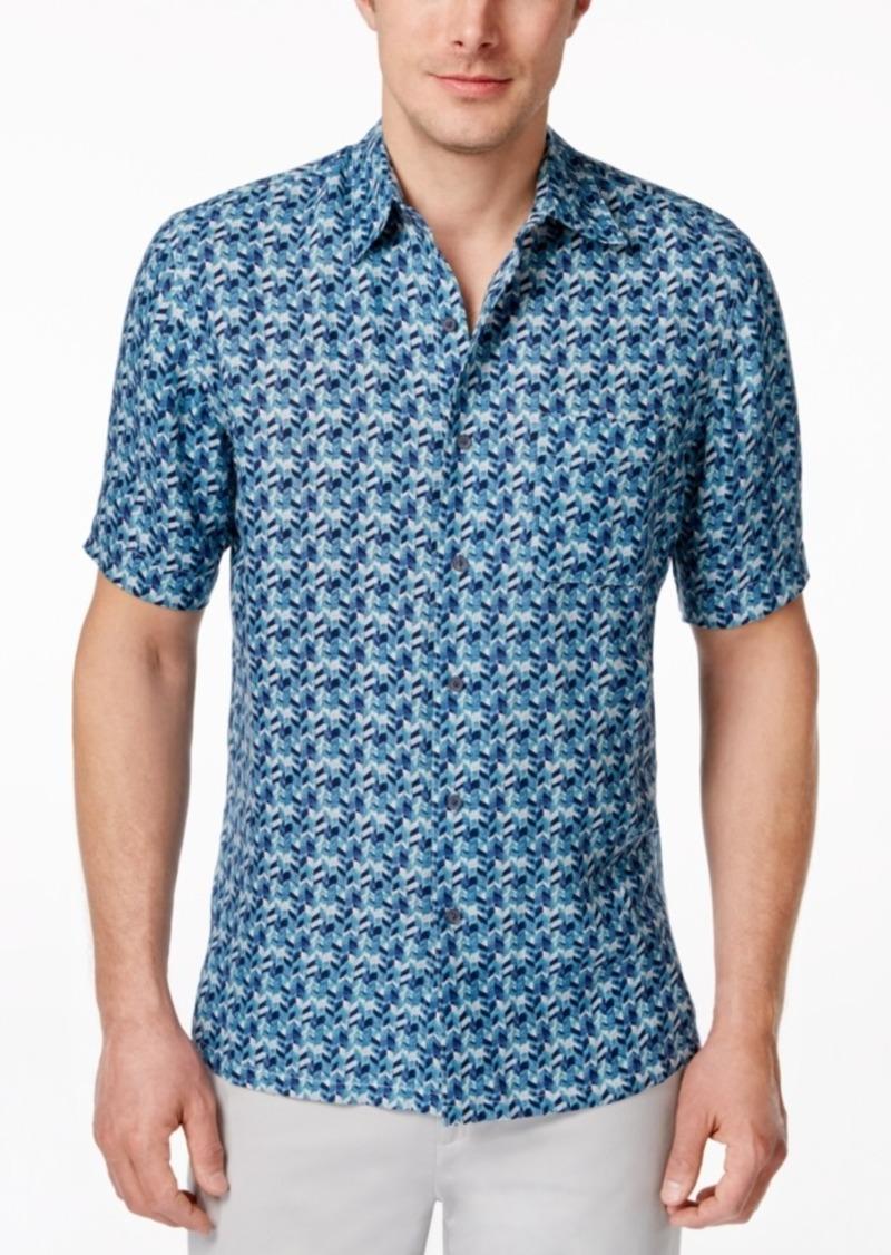 acc5ff2738c On Sale today! Tasso Elba Tasso Elba Men s Silk Linen Short-Sleeve ...