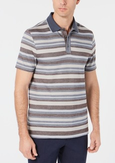 Tasso Elba Men's Stripe Polo, Created for Macy's