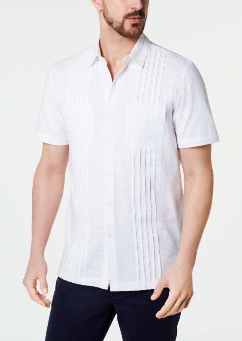 Tasso Elba Men's Stripe Knit Shirt, Created for Macy's