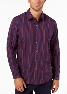 Tasso Elba Men's Striped Shirt, Created for Macy's