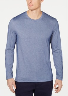 Tasso Elba Men's Supima Blend Crewneck Long-Sleeve T-Shirt, Created for Macy's