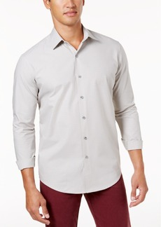Tasso Elba Men's Supima Check Shirt, Created for Macy's