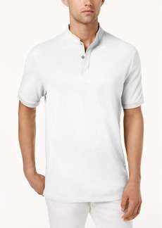 Tasso Elba Men's Supima Cotton Banded Polo, Created for Macy's
