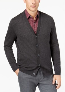 Tasso Elba Men's Supima Cotton Cardigan Sweater, Created for Macy's