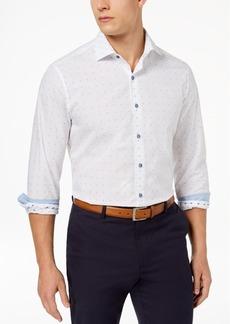 Tasso Elba Men's Supima Cotton Dobby Shirt, Created for Macy's
