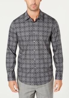 Tasso Elba Men's Tapestry-Print Shirt, Created for Macy's