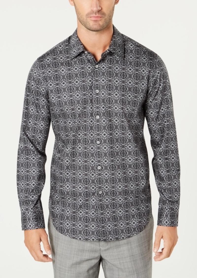 Tasso Elba Men's Tapestry-Print Shirt, Created for Macy's
