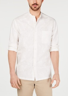 Tasso Elba Men's Torleno Linen Shirt, Created for Macy's