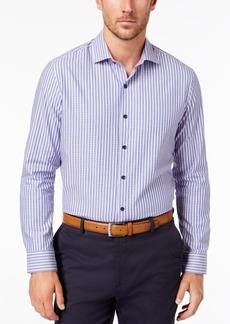 Tasso Elba Men's Tortelli Dobby Striped Shirt, Created for Macy's