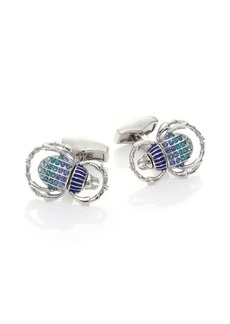 Tateossian Beetle Cuff Links