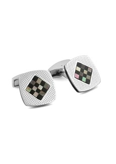 Tateossian Cushion Diamond Cufflinks