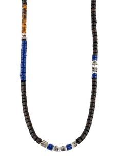 Tateossian Ebony Discs Necklace