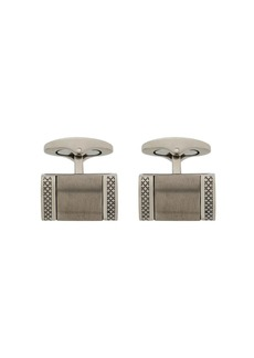 Tateossian engraved rectangular cufflinks