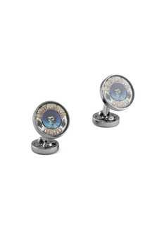 Tateossian x Grateful Dead Artistic Skull Cufflinks