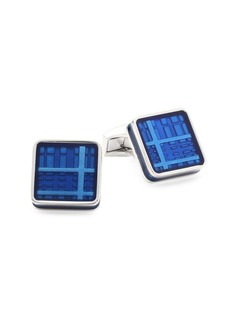 Tateossian Ice Mirror Image Cuff Links