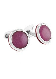 Tateossian Limited Edition Signature Doublet Ruby Cuff Links