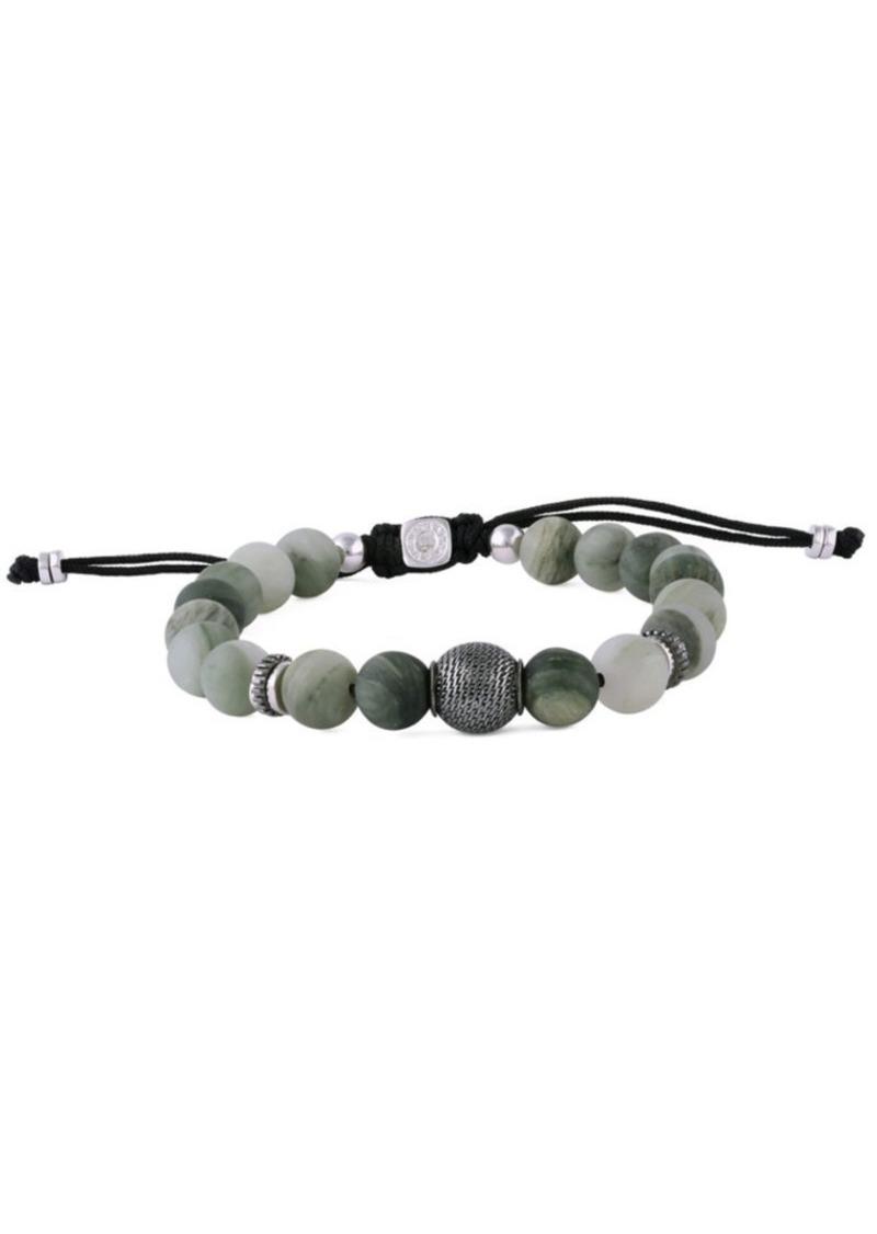 Tateossian Macramé Stratus Stone & Sterling Silver Bracelet