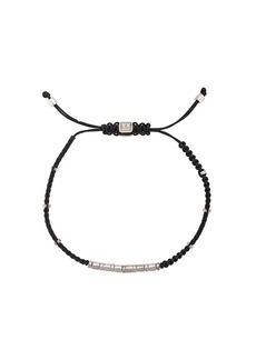Tateossian macrame bamboo bead bracelet