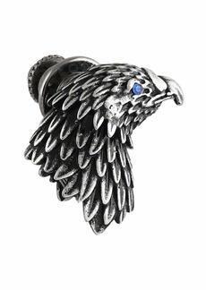 Tateossian Men's Eagle Pin w/ Crystal Eye