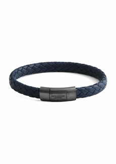 Tateossian Men's Rubber Braided Bracelet