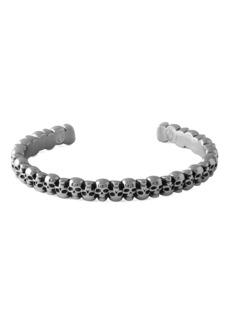 Tateossian Men's Skull Cuff Bracelet