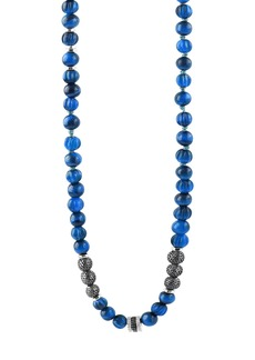 Tateossian Men's The Formentera Sodalite Necklace