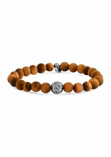 Tateossian Men's Tiger Eye & Asteroid Bracelet