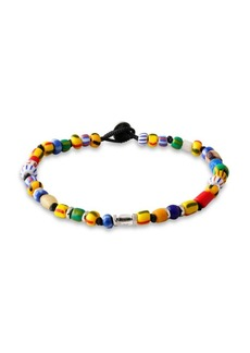 Mombasa Silver Christmas Beads Bracelet