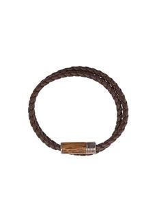 Tateossian Montecarlo Wood Bracelet
