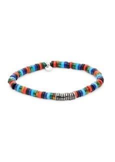 Tateossian Multi-Media Beaded Bracelet