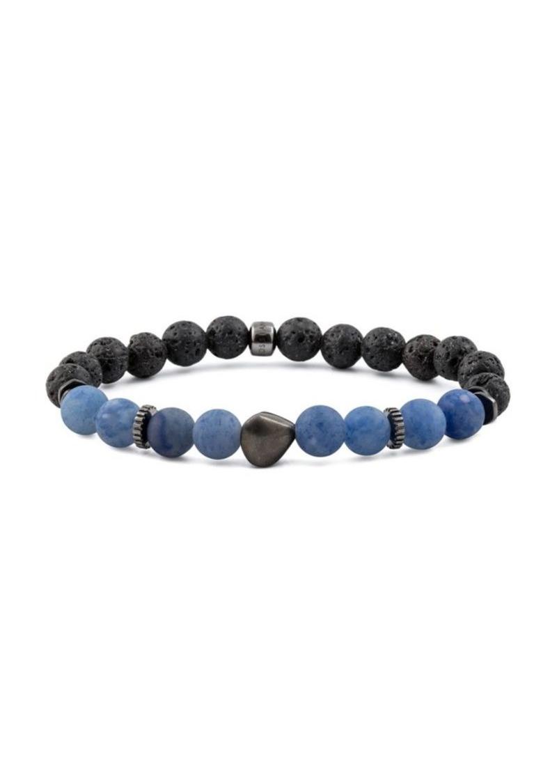 Tateossian Nugget Black Rhodium Bracelet