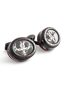 Tateossian Panorama Tourbillon Cuff Links