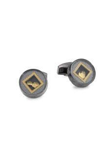Tateossian Precious Window Cuff Links