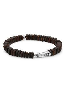 Tateossian Silver Discs Bracelet