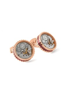 Tateossian Skeleton Gear Cuff Links