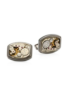 Tateossian Skeleton Movement Signature Case Cufflinks