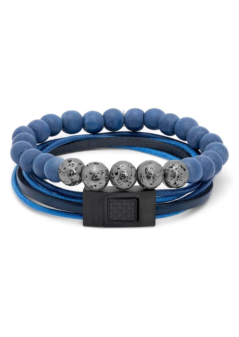 Tateossian 2-Piece Beaded Bracelet
