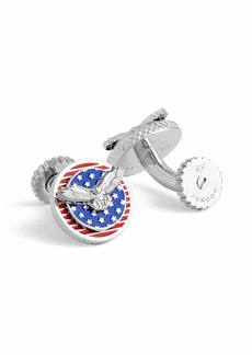 Tateossian American Eagle Rotating Cuff Links