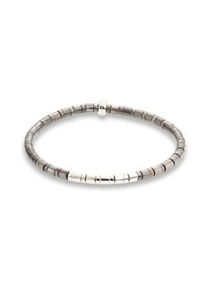 Tateossian Bamboo Sterling Silver Bracelet