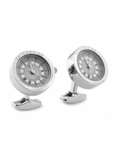Tateossian Big Ben Stainless Steel Cuff Links