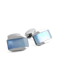 Tateossian Blue Mother-of-Pearl Cuff Links