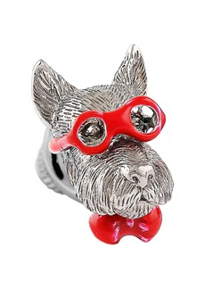 Tateossian Bookish Scottish Terrier Pin