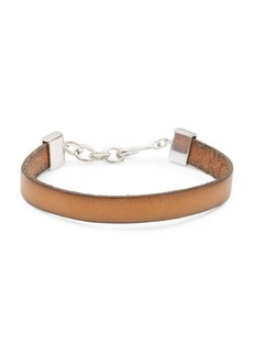 Tateossian Classic Leather Bracelet